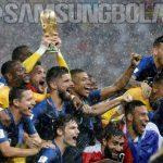 Bungkam Kroasia, Prancis Juara Piala Dunia 2018