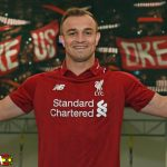 Resmi, Liverpool Dapatkan Xherdan Shaqiri dari Stoke City