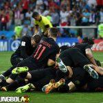 6 Langkah Kroasia ke Final Piala Dunia 2018