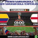 PREDIKSI COLUMBIA VS ENGLAND 4 JULI 2018