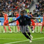 Gol Umtiti Antar Prancis ke Final Piala Dunia 2018