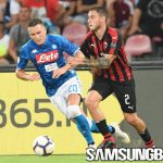 Comeback Dahsyat Partenopei Paksa AC Milan Gigit Jari