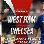 Prediksi West Ham United vs Chelsea