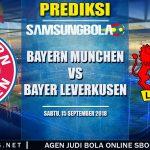 Prediksi Bayern Munchen Vs Bayer Leverkusen 15 September 2018