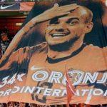 """Tribute Yang Unik Dari Timnas Belanda Untuk Melepas Sang Legenda """"Wesley Sneijder"""""""