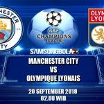 Prediksi Manchester City Vs Olympique Lyonnais 20 September 2018