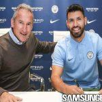 Aguero Resmi Perpanjang Masa Bakti di Manchester City
