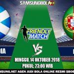 Prediksi Pertandingan Skotlandia vs Portugal 14 Oktober 2018