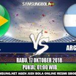 Prediksi Pertandingan Brazil Vs Argentina 17 Oktober 2018