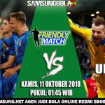 Prediksi pertandingan Italia Vs Ukraina 11 Oktober 2018