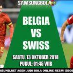Prediksi Pertandingan Belgia vs Swiss 13 Oktober 2018