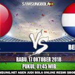 Prediksi Pertandingan Belgia Vs Belanda 17 Oktober 2018