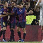 Highlights Pertandingan Barcelona vs Inter Milan