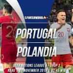 Prediksi Portugal vs Polandia 21 November 2018