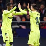 Cuplikan Pertandingan Atletico Madrid vs Barcelona