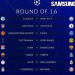 Hasil Drawing Babak 16 Besar Liga Champions 2018/2019