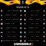 Hasil Drawing Babak 32 Besar Liga Europa 2018/2019
