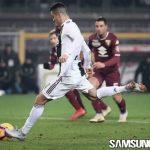 Cristiano Ronaldo Menangkan Juventus di Derby della Mole
