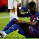 Ousmane Dembele Alami Cedera Saat Dalam Performa Terbaiknya