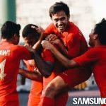 Dua Gol Marinus Manewar Bawa Indonesia U-22 ke Semifinal Piala AFF U-22