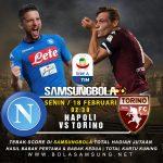 Prediksi Napoli vs Torino 18 Februari 2019