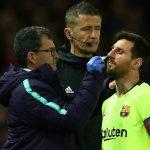 Lionel Messi Alami Insiden, Suporter MU Bersorak Chant Viva Ronaldo
