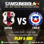 Prediksi Japan vs Chile 18 Juni 2019