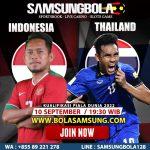 Prediksi Indonesia vs Thailand 10 September 2019