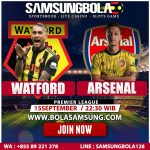 Prediksi Watford vs Arsenal 15 September 2019