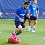 Jalani Sesi Latihan, Lionel Messi Siap Turun Hadapi Inter Milan