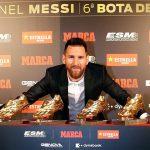 Lionel Messi Raih Penghargaan Sepatu Emas Eropa 2019