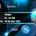 Prediksi Jitu Juventus vs Napoli 30 Oktober 2016