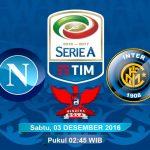 Prediksi Napoli vs Inter Milan 03 November 2016
