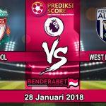 Prediksi Pertandingan Liverpool vs West Bromwich Albion 28 Januari 2018