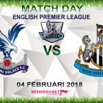 Prediksi Crystal Palace vs Newcastle United 4 Februari 2018