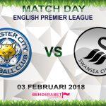Prediksi Leicester City vs Swansea City 3 Februari 2018