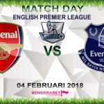 Prediksi Arsenal vs Everton 4 Februari 2018