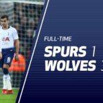 Tottenham Hotspur ditimpa kekalahan mengejutkan 3-1 saat menjamu Wolverhampton Wanderers di Wembley dalam lanjutan Liga Primer Inggris,